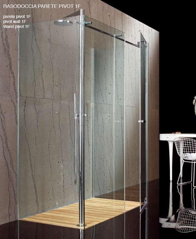 Raso doccia porta pivot