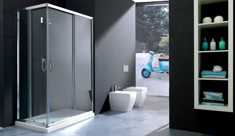 Box doccia for Bricoman piastrelle bagno