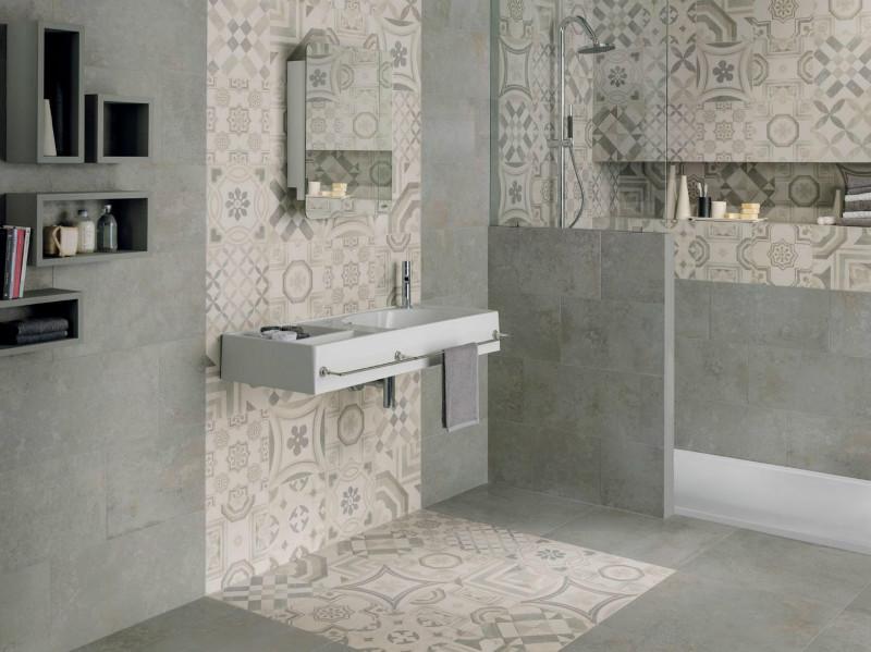 Pavimenti cementine gres porcellanato keope - Cementina bagno ...