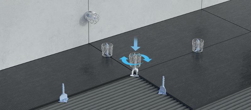 Livellatori posa piastrelle progress - Livellatori per piastrelle ...